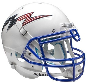 Authentic Air Force Falcons White XP Helmet by Schutt