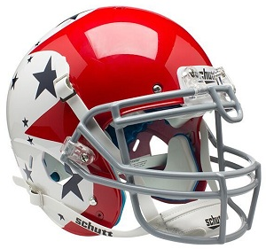 Air Force Falcons Authentic Red Football Helmet