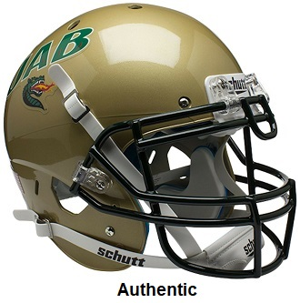 UAB Alabama Birmingham Blazers Authentic XP Helmet