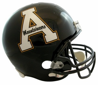 Appalachian State Mountaineers Replica Riddell Football Helmet
