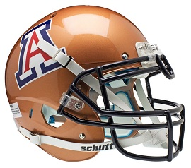 Authentic University of Arizona Copper XP Helmet by Schutt