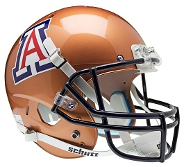 Replica University of Arizona Copper XP Helmet by Schutt