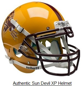 Authentic Arizona State Sparky XP Helmet