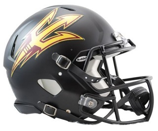 Arizona State Authentic Black Speed Helmet Riddell