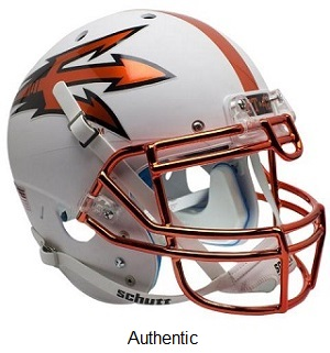 Arizona State Chrome Mask XP Helmet
