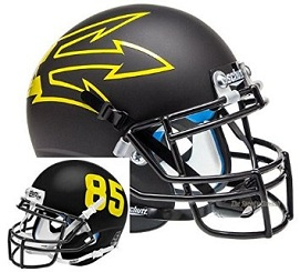 Arizona State Replica Black Large Fork XP Helmet