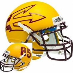 Arizona State Replica Gold Large Fork XP Helmet
