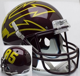 Arizona State Replica Maroon Large Fork XP Helmet