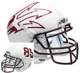 Arizona State Replica White Large Fork XP Helmet