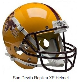 Replica Arizona State Sun Devil XP Helmet