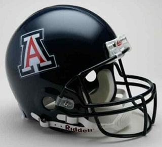Authentic University of Arizona VSR4 Pro Line Football Helmet