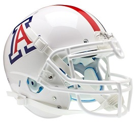 Authentic University of Arizona White XP Helmet by Schutt