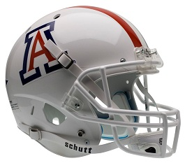Replica University of Arizona White XP Helmet by Schutt