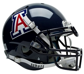 Authentic University of Arizona XP Helmet by Schutt