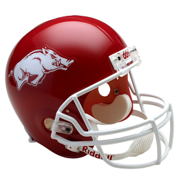 University of Arkansas Replica Football Helmet by Riddell