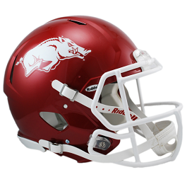 University of Arkansas Authentic Speed Helmet