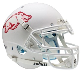 University of Arkansas White XP Football Helmet