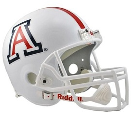 University of Arizona Replica Football Helmet by Riddell
