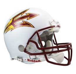 Arizona State Football Helmet Authentic Riddell