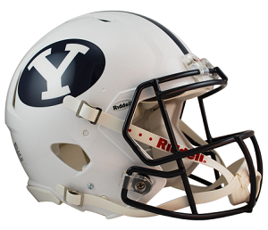 Authentic Revolution Speed BYU Football Helmet