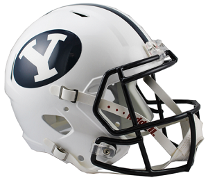 BYU Cougars Replica Speed Helmet