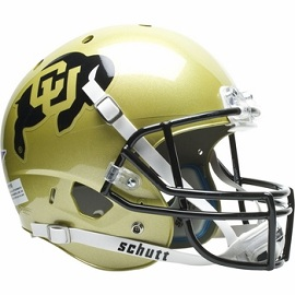 University of Colorado Replica XP Football Helmet