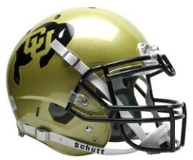 Colorado Buffaloes XP Football Helmet
