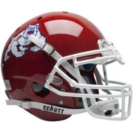 Authentic Fresno State XP Helmet by Schutt