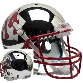 Fresno State Replica Chrome XP Helmet