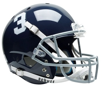 Georgia Southern Eagles Full Size Replica Football Helmet by Schutt