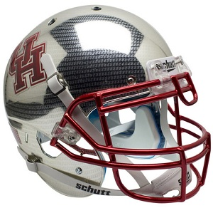 University of Houston Crosshatch Helmet