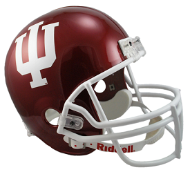 Indiana Hoosiers Full Size Replica Football Helmet by Riddell
