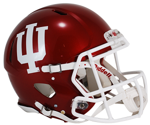 Indiana University Authentic Football Helmet