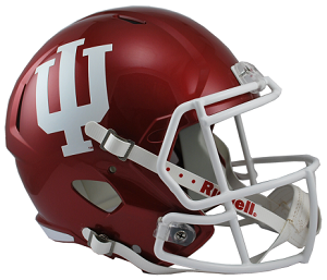 Indiana Hoosiers Replica Speed Helmet