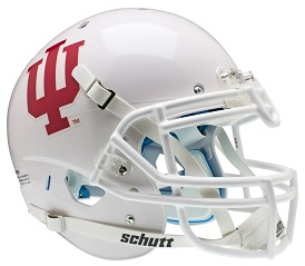 Authentic Indiana Hoosiers Alternate White XP Helmet by Schutt