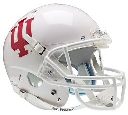 Replica Indiana Hoosiers White XP Helmet by Schutt