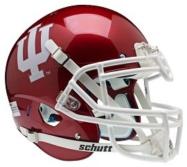 Authentic Indiana Hoosiers XP Helmet by Schutt