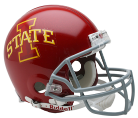 Iowa State Cyclones Authentic Football Helmet