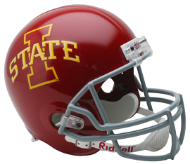 Iowa State Cyclones Replica Football Helmet by Riddell