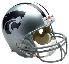 Kansas State Wildcats Full Size Replica Football Helmet by Riddell