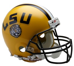 Authentic LSU Tigers Football Helmet