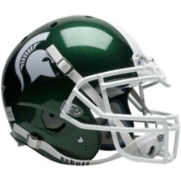 Authentic Michigan State Spartans XP Helmet by Schutt