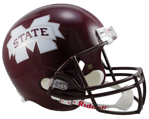 Mississippi State Replica Football Helmet by Riddell