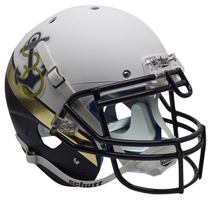 Authentic Navy Midshipmen 2012 Rivalry Football Helmet