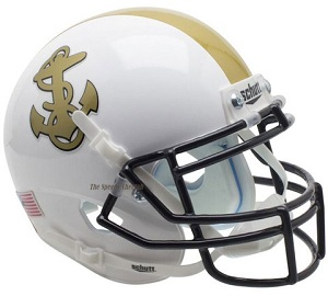 Navy  Midshipmen Full Size Replica XP Helmet