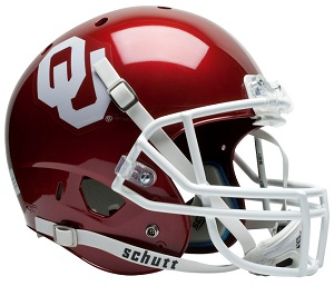 University of Oklahoma Replica XP Football Helmet by Schutt