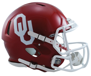 University of Oklahoma Authentic Football Helmet