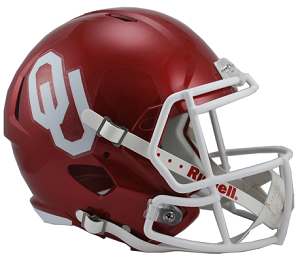 University of Oklahoma Replica Speed Helmet