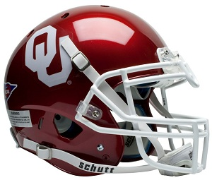 University of Oklahoma XP Football Helmet