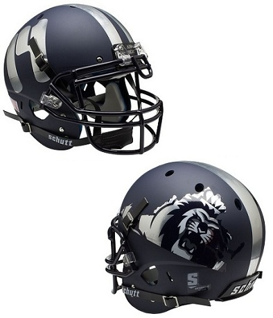 Old Dominion Monarchs Authentic XP Football Helmet by Schutt